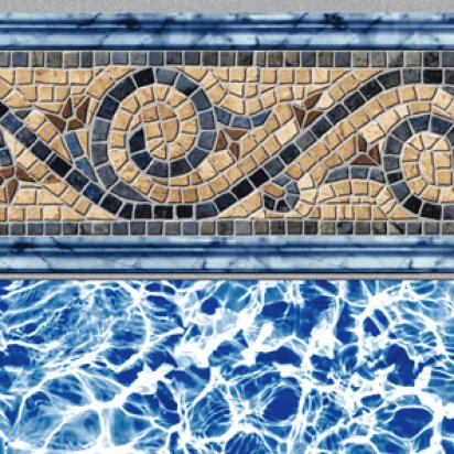 Siesta Wave 20 Gauge Inground Pool Liner