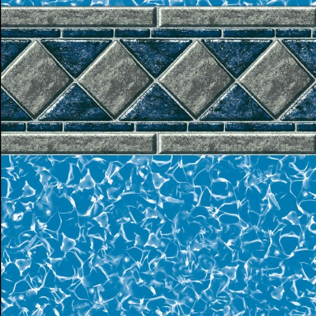Stonebridge inground pool liner diy pool liners plus for Inground pool liners