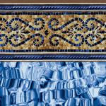 Bronze Mosaic 20 Gauge Inground Pool Liner