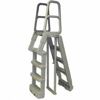 Main Access Above Ground A-Frame Ladder