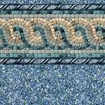 Tan Mosaic 20 Gauge Inground Pool Liners