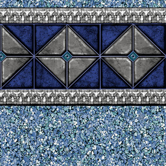 16 X32 Blue Hampshire 20 Gauge Inground Pool Liner